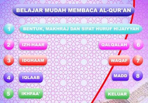 """Download Aplikasi: Belajar Baca Alquran """" Tajwid"""""""