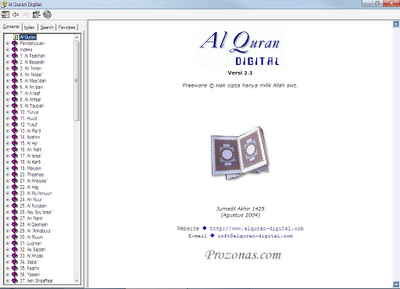 Download Al Qur'an Digital (Arab-Terjemah)