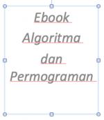 Ebook Algoritma dan Permograman